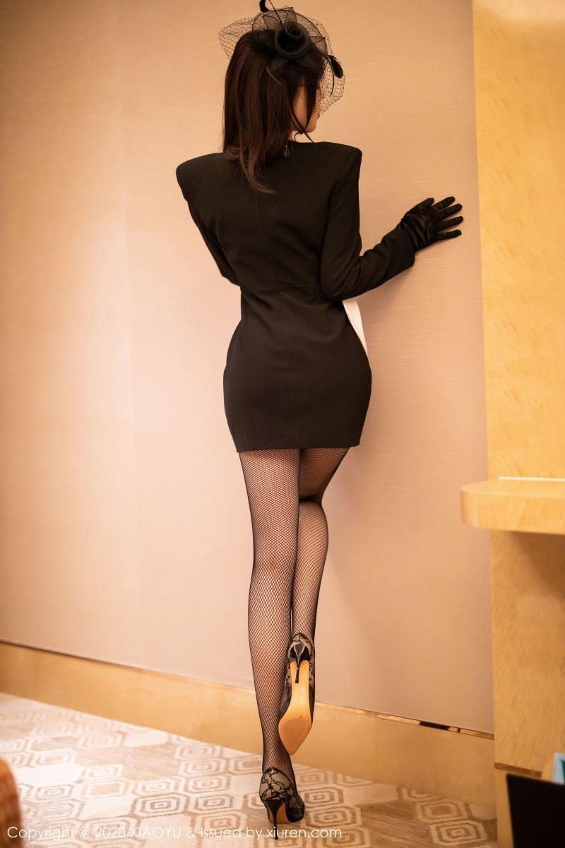 美女写真 高贵典雅制服与魅惑网袜 芝芝Booty [73P/257MB] 美丝写真-第2张