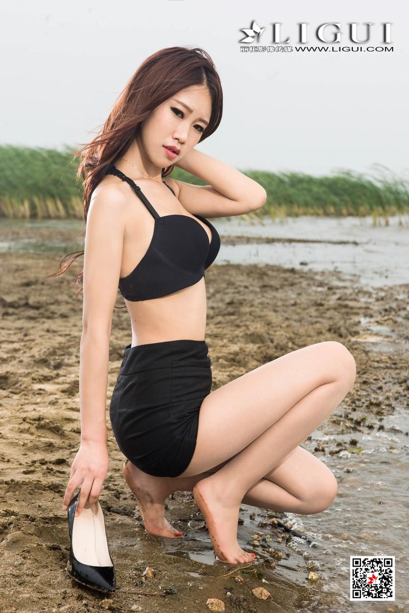 [Ligui丽柜] 2020.07.15 网络丽人 Model 语寒 [101P/59MB] LIGUI丽柜-第2张