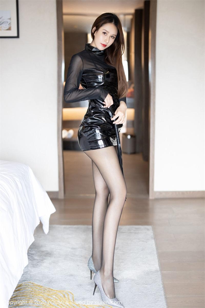 美女写真 黑色内衣 徐安安 [69P/246MB] 美丝写真-第1张