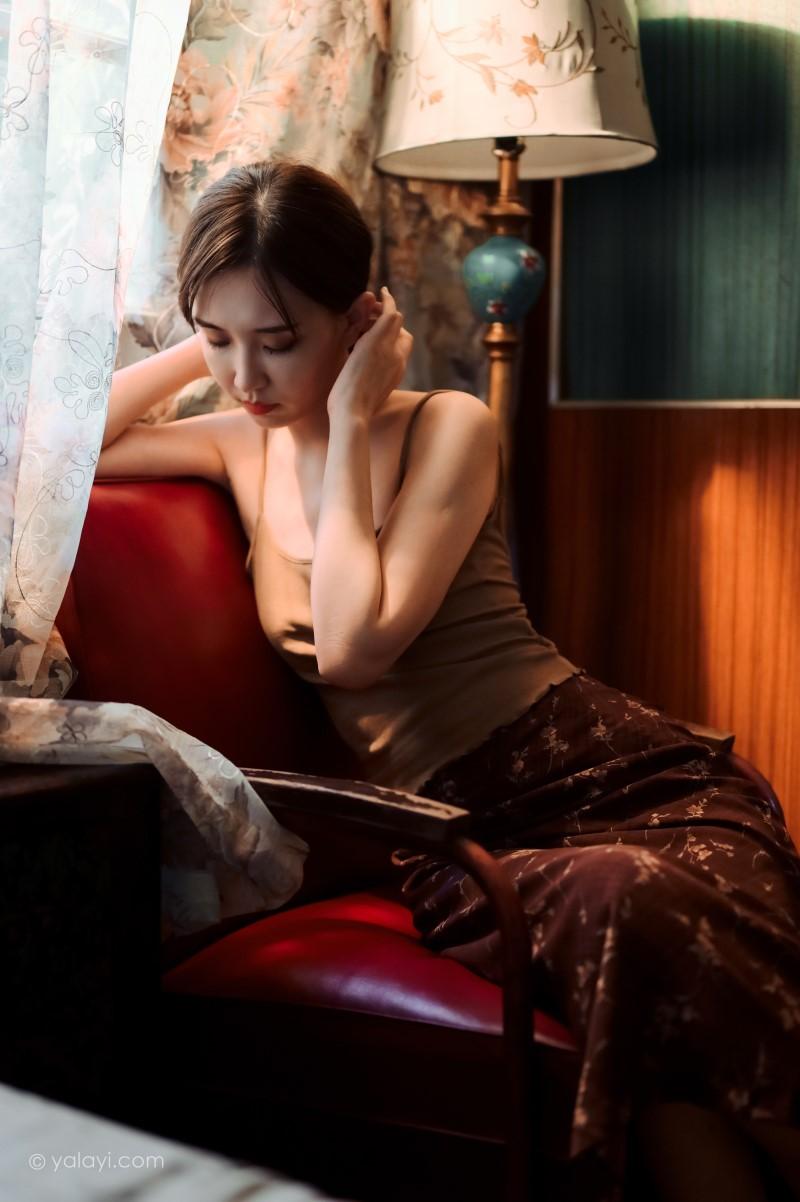 [YALAYI雅拉伊]2020.08.14 NO.689 妍妍《黯然》[42P/513MB] 雅拉伊-第3张