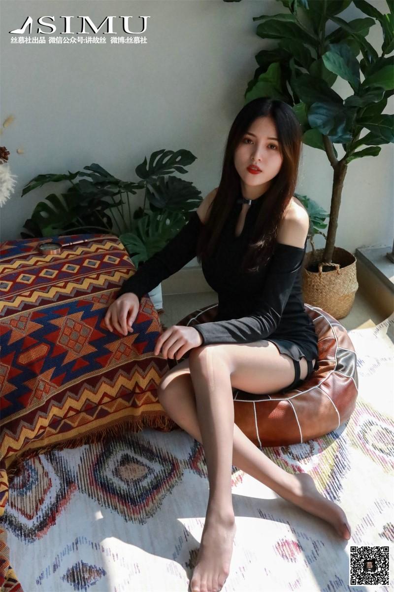 丝模系列 丝慕写真 SM247 天天一元 新模《阳台遇娇丝》[69P/234MB] 丝慕写真-第3张