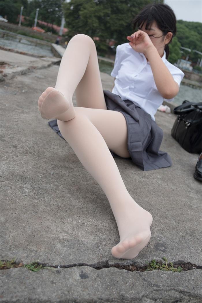 萝莉系列 森萝财团写真 BETA-005 白丝高中生 [75P/498MB] BETA-第3张