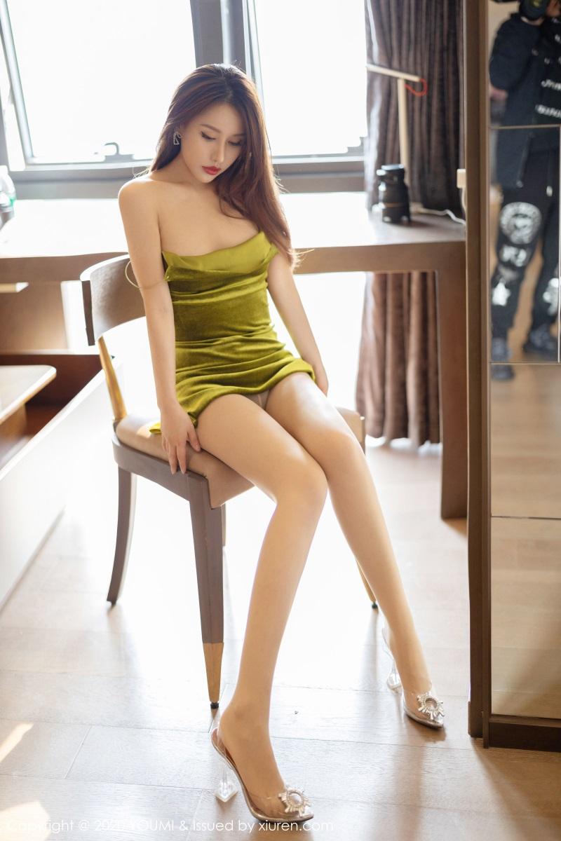 美女写真 典雅的吊裙 徐安安 [59P/187MB] 美丝写真-第4张