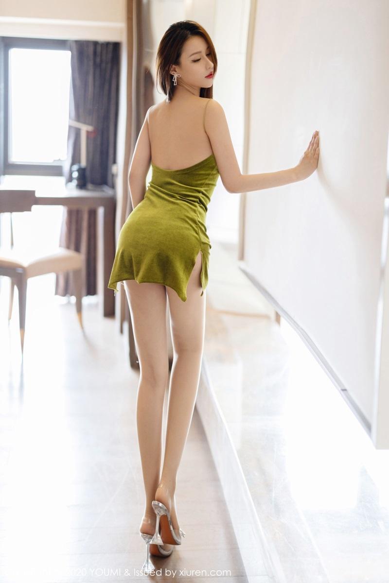 美女写真 典雅的吊裙 徐安安 [59P/187MB] 美丝写真-第2张