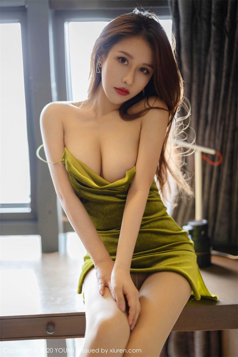 美女写真 典雅的吊裙 徐安安 [59P/187MB] 美丝写真-第1张
