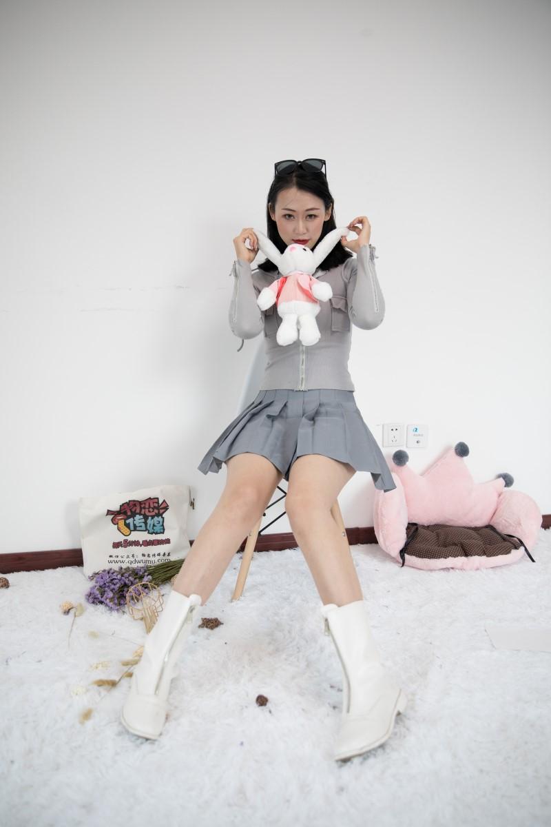 物恋传媒 No.382 echo-兔子与雪花 [133P/1V/3.15G] 物恋传媒-第1张