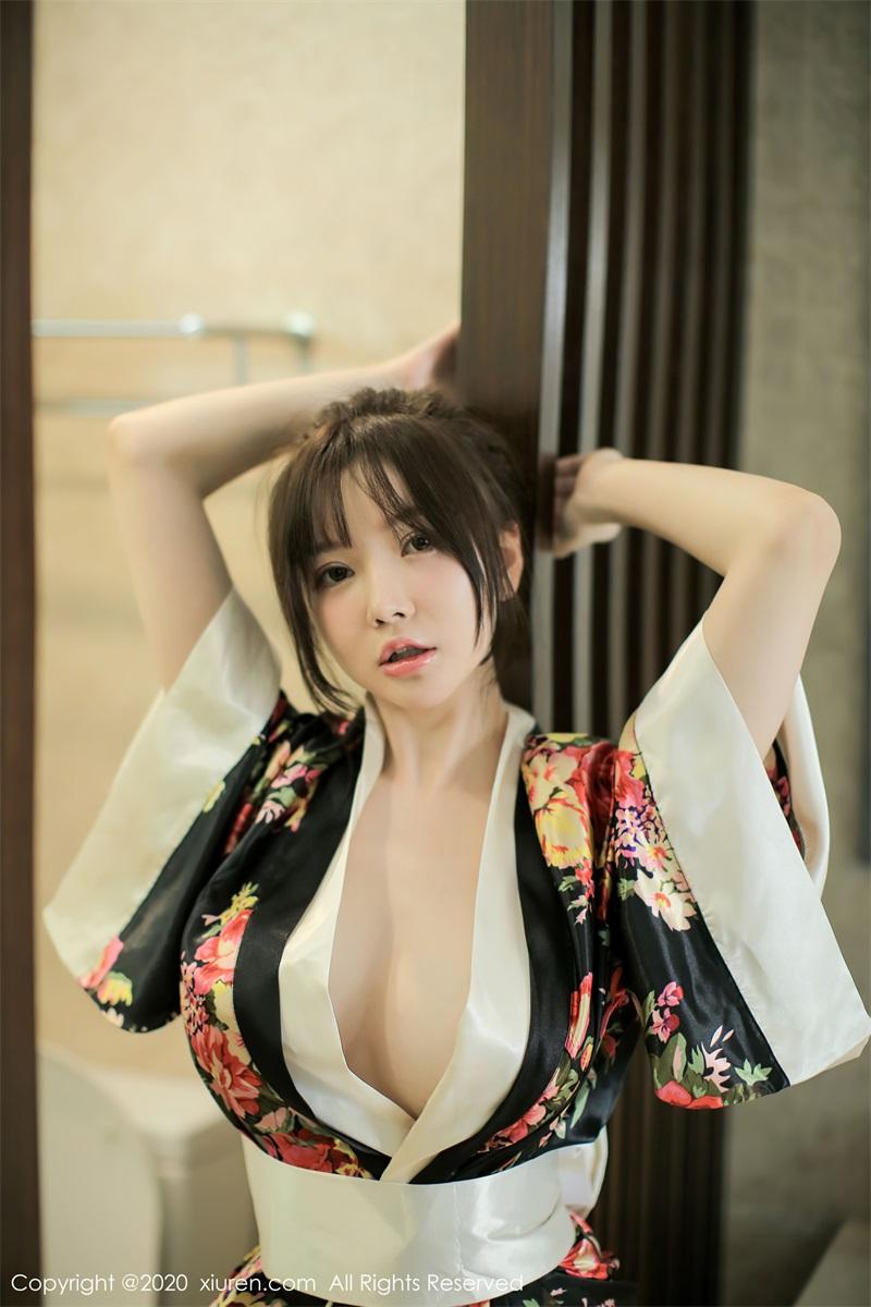 美女写真 色彩艳丽的和服 糯美子Mini [44P/494MB] 美丝写真-第3张