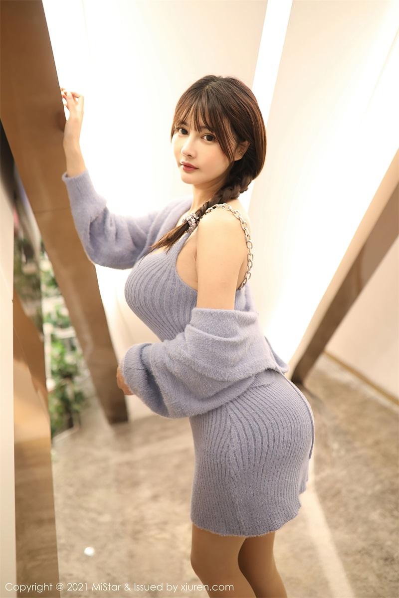 美女写真 朦胧丝袜 萌奈子 [51P/532MB] 美丝写真-第2张