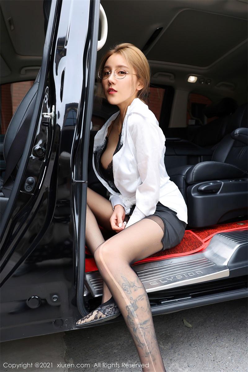 美女写真 商务车车拍 夏西Cici [61P/618MB] 美丝写真-第2张