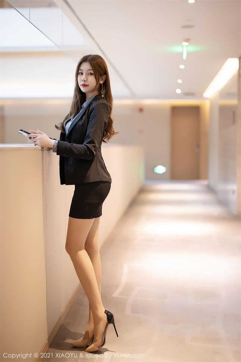 美女写真 黑色职场OL制服 梦梵 [61P/494MB] 美丝写真-第1张