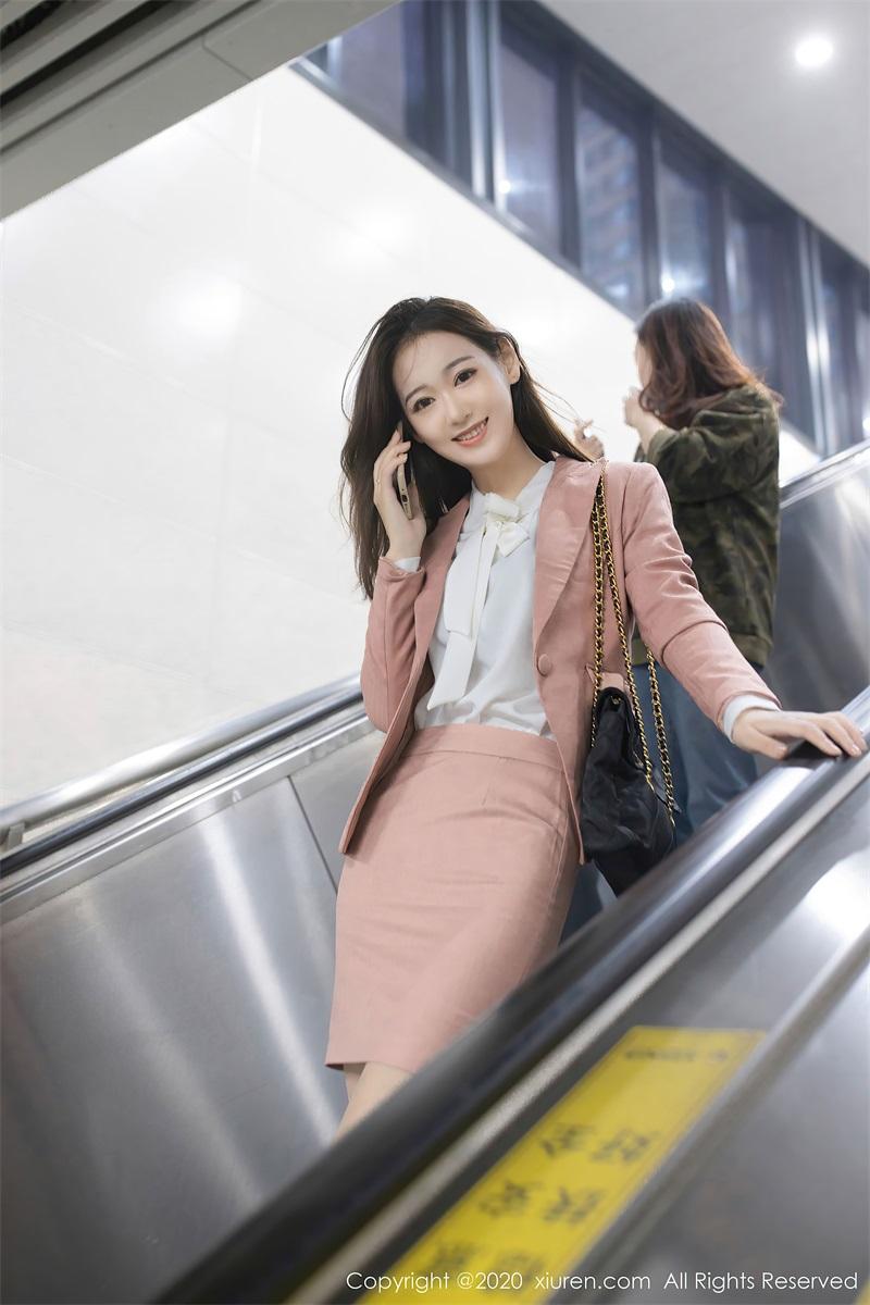 美女写真 地铁学妹 唐安琪 [62P/606MB] 美丝写真-第1张