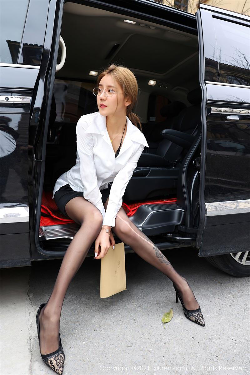 美女写真 商务车车拍 夏西Cici [61P/618MB] 美丝写真-第1张