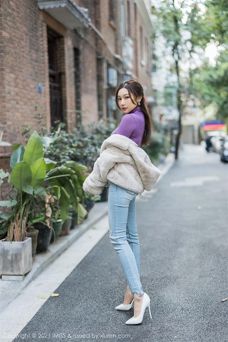 美女写真 紫色仅身衣 小狐狸Kathryn [53P/596MB] 美丝写真-第1张