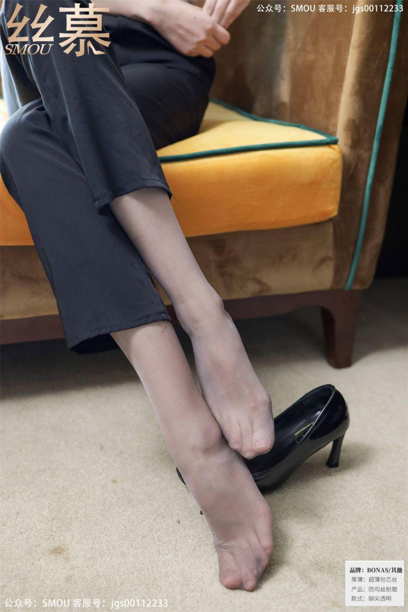 丝模系列 丝慕写真 SM425 紫宁《高腰OL西裤袜》[64P/181MB] 丝慕写真-第4张