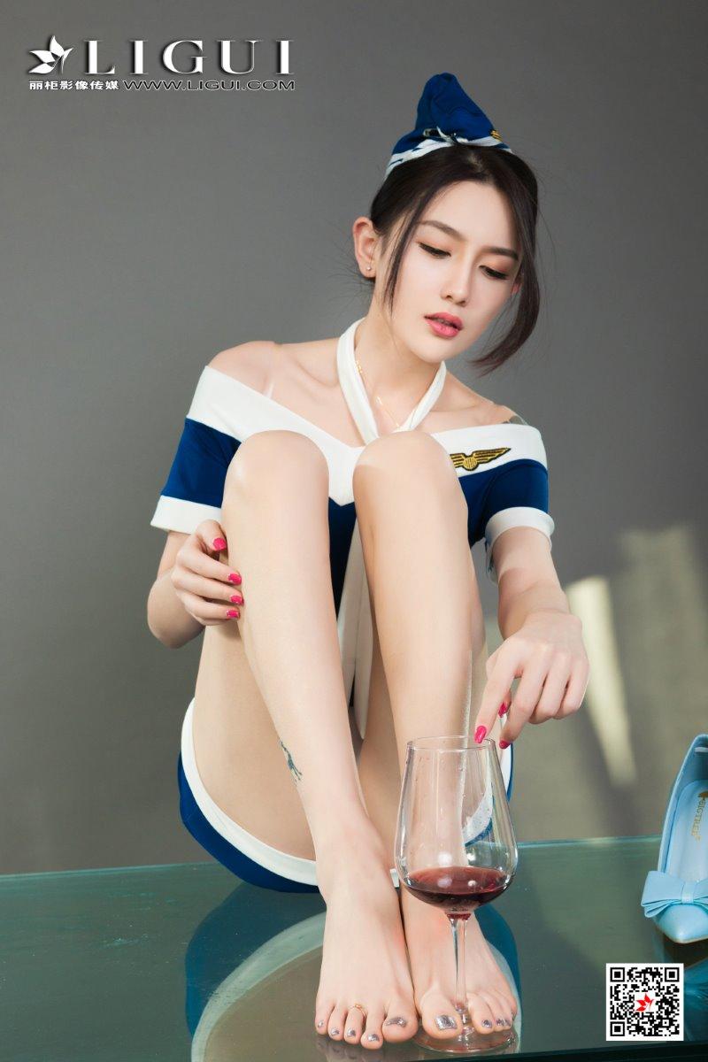 [Ligui丽柜] 2021.06.16 Model《醉酒香莲》甜甜 [76/84MB] LIGUI丽柜-第3张