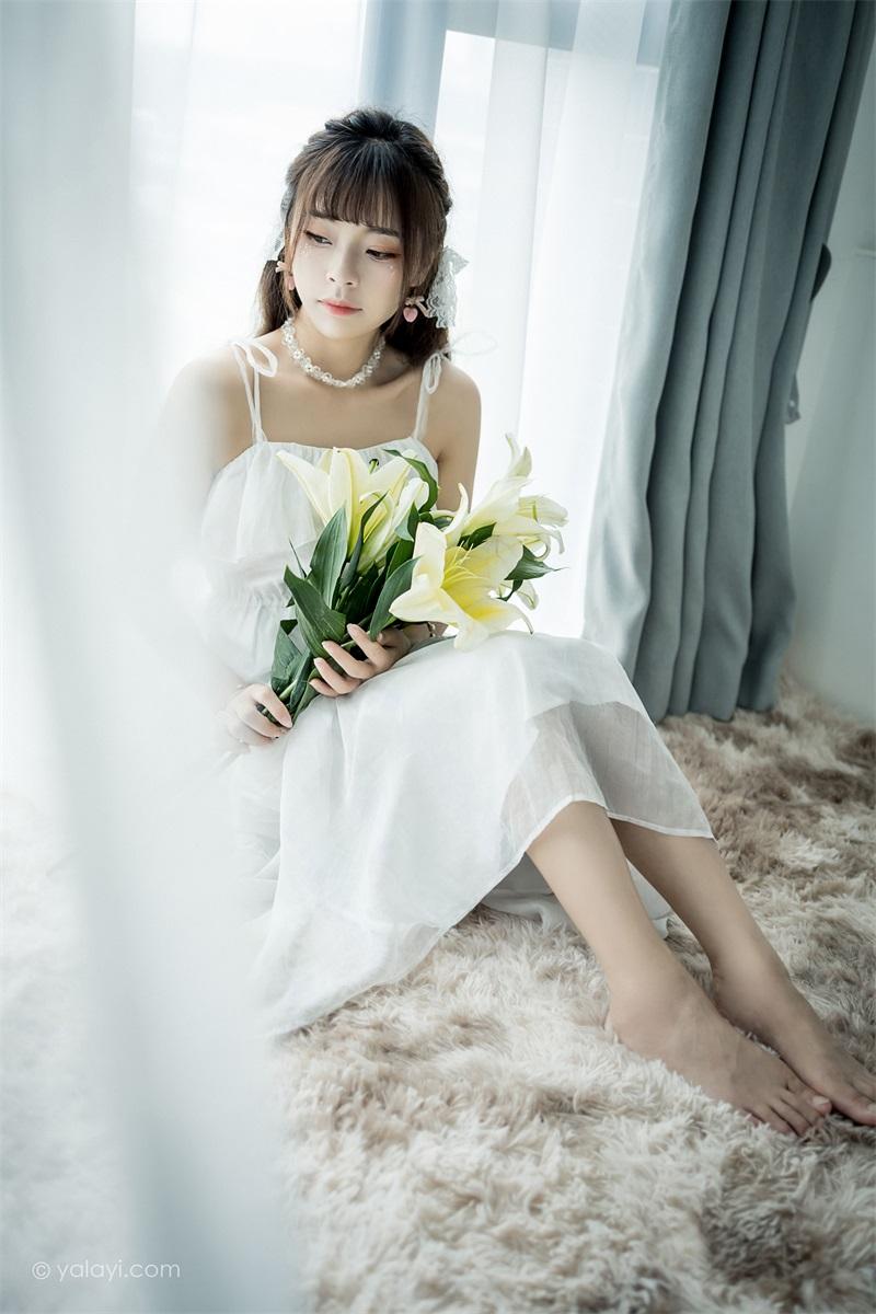 [YALAYI雅拉伊]2021.07.19 NO.818白色恋人 程小蝶 [41P/391MB] 雅拉伊-第4张