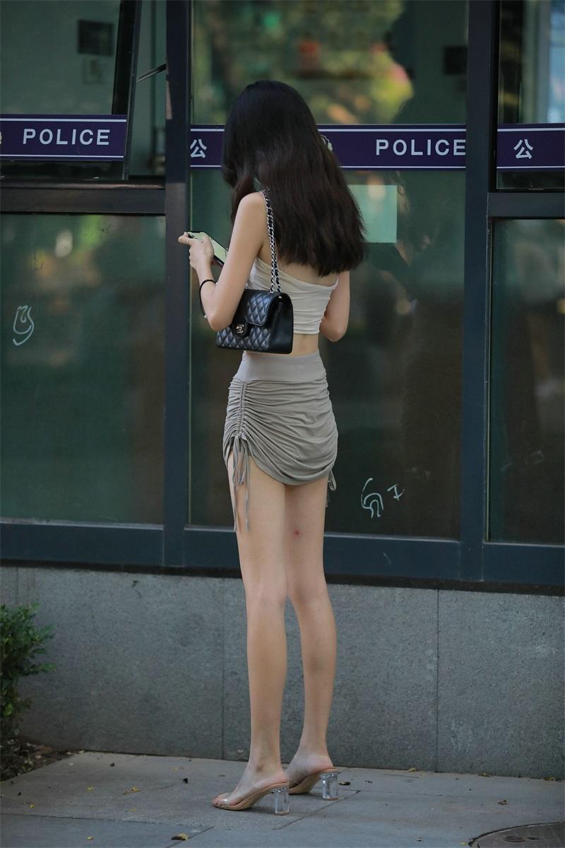 精选街拍 No.155 隔壁班的美腿学姐 [202P/203MB] 精选街拍-第4张