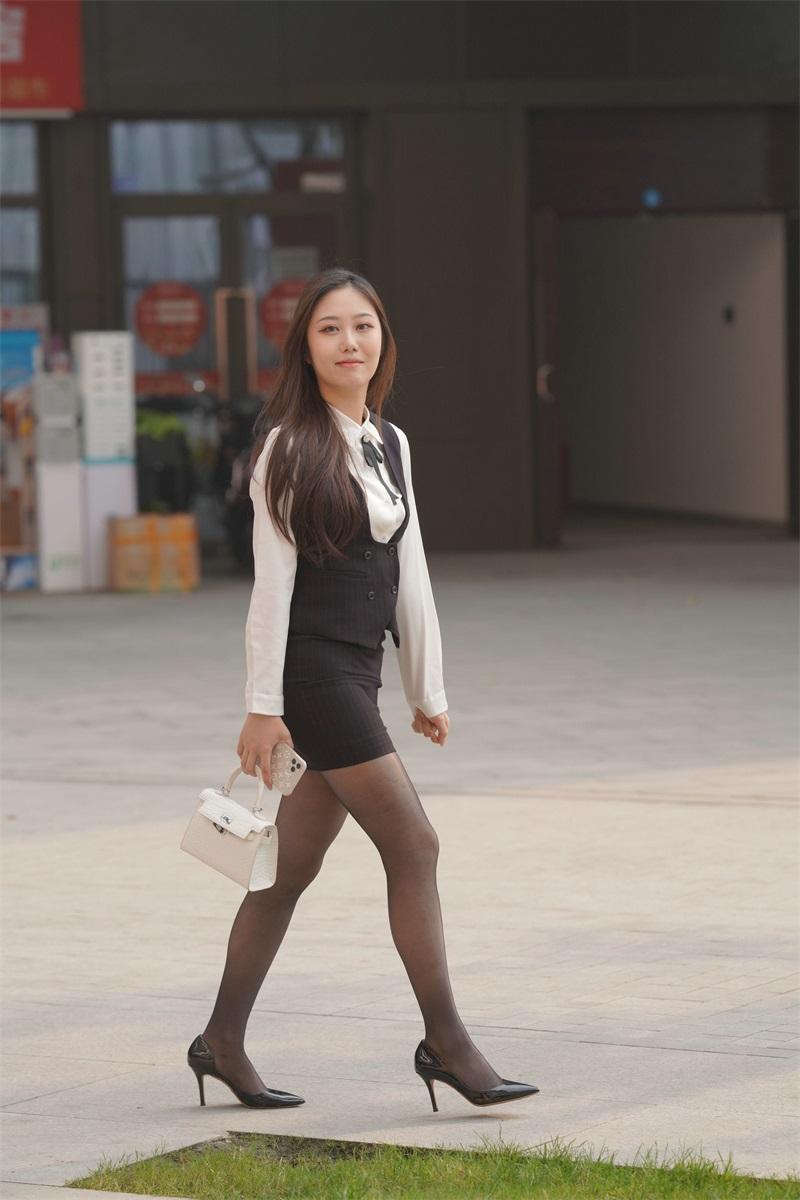 精选街拍 No.156 和漂亮女职员的下午茶时光 [382P/270MB] 精选街拍-第4张