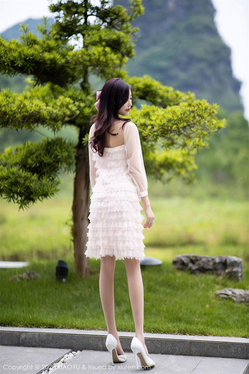 美女写真 运动内衣和粉色长裙 杨晨晨sugar [71P/673MB] 美丝写真-第4张