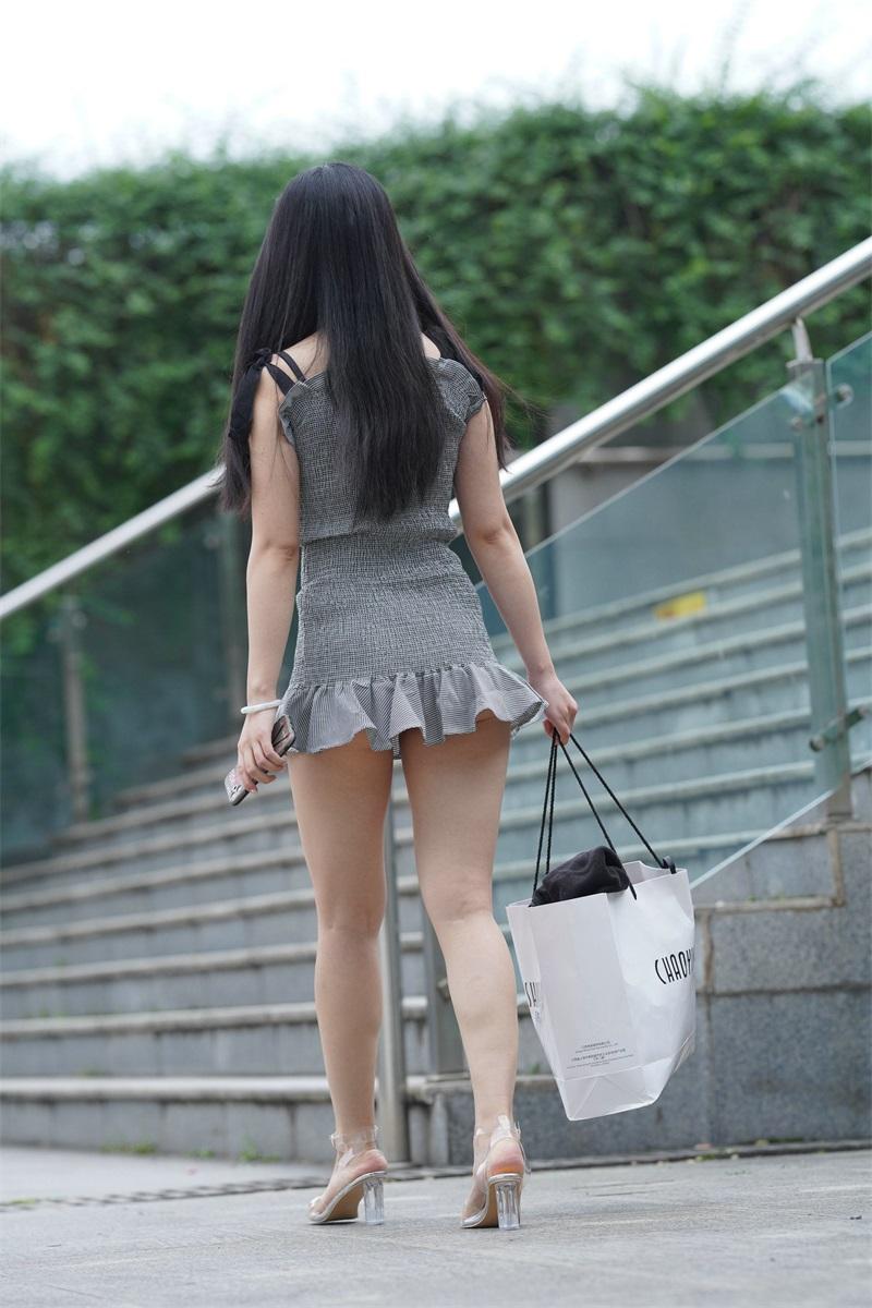 精选街拍 No.124 超短裙女孩 3 [109P/79MB] 精选街拍-第4张