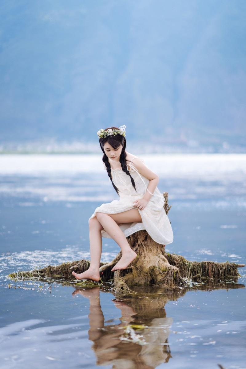 萝莉系列 喵糖映画少女写真 VOL.306 海边姑娘 [38P/635MB] 喵糖映画-第4张