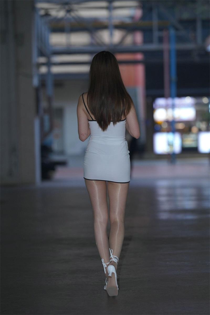 精选街拍 No.129 好养眼的白裙美眉 3 [121P/50MB] 精选街拍-第4张