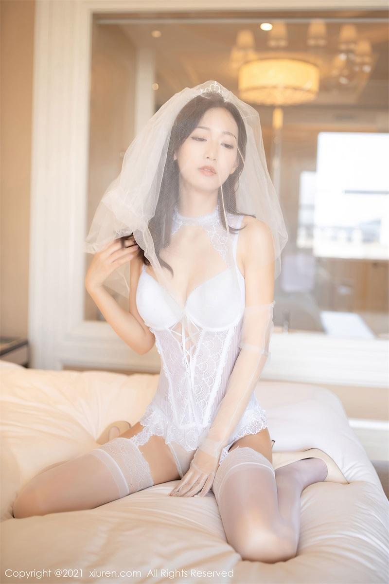 美女写真 白色婚纱 唐安琪 [67P/604MB] 美丝写真-第4张
