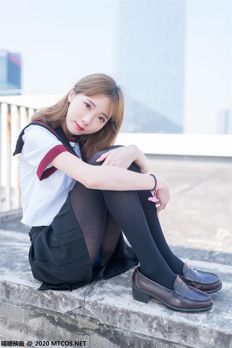 萝莉系列 喵糖映画少女写真 VOL.322 天台少女 [46P/329MB] 喵糖映画-第3张