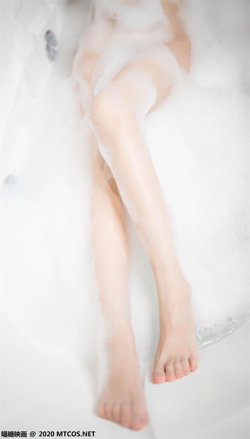 萝莉系列 喵糖映画少女写真 VOL.323 浴缸泡泡 [20P/99MB] 喵糖映画-第3张