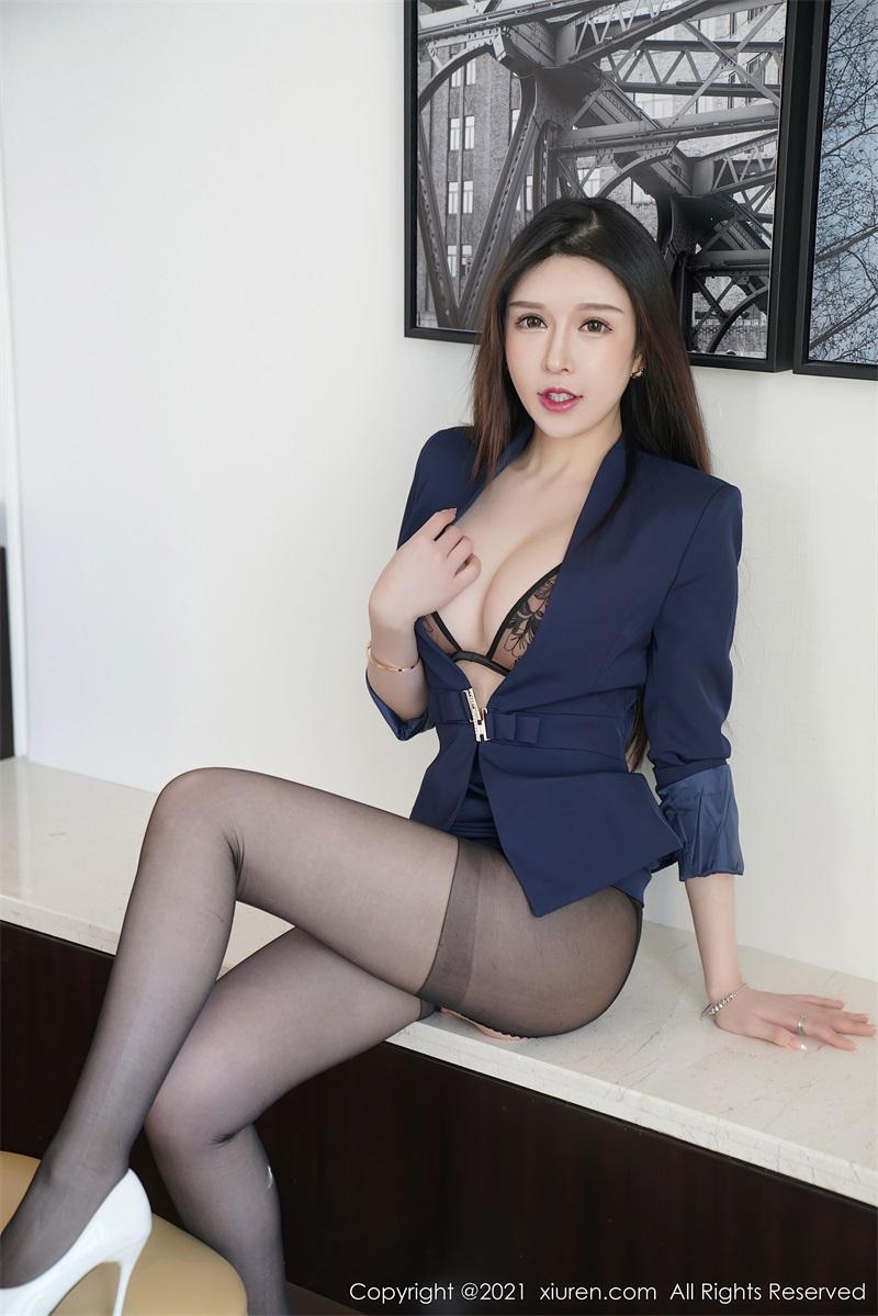 美女写真 经典职场秘书OL 玉兔miki [81P/713MB] 美丝写真-第3张