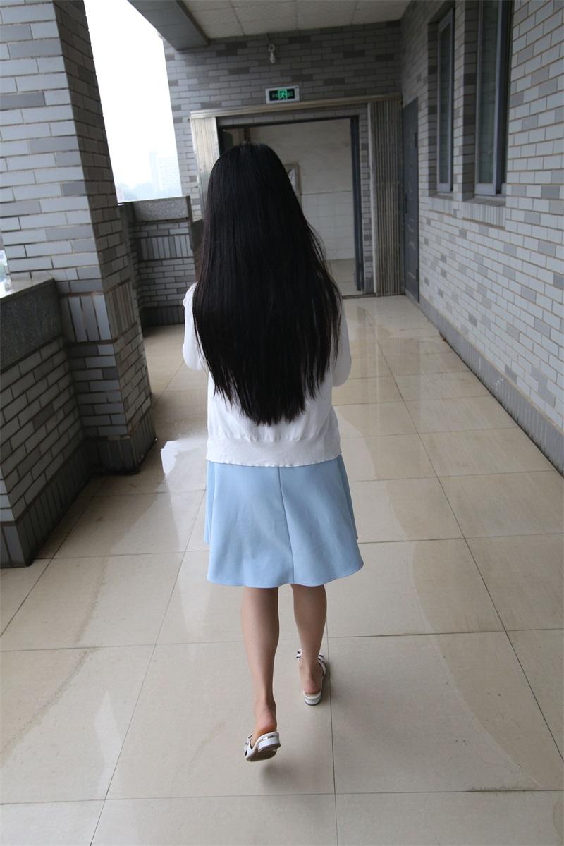 [大西瓜爱牙膏] Z系列 014 小蓝裙2 [150P/969MB] 大西瓜爱牙膏-第3张