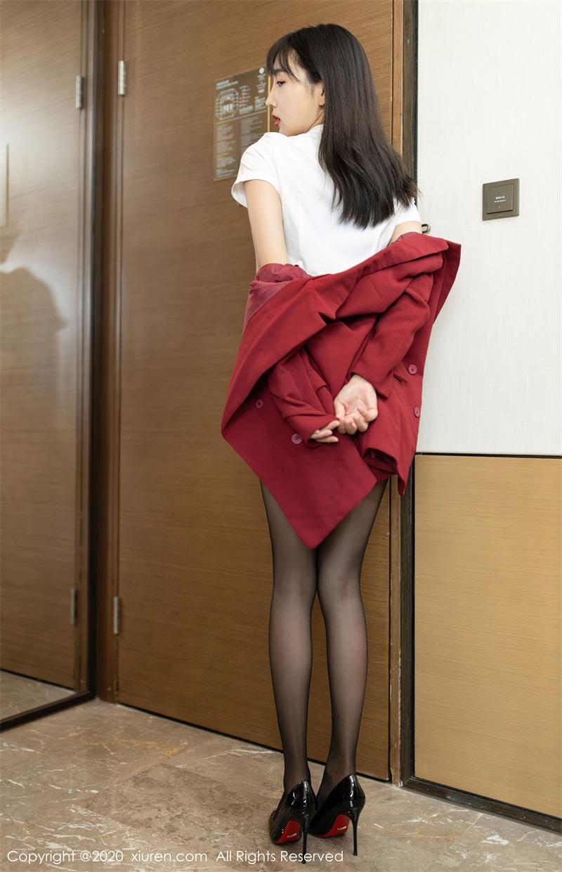 美女写真 热情洋溢的职场西服 陆萱萱 [65P/639MB] 美丝写真-第3张
