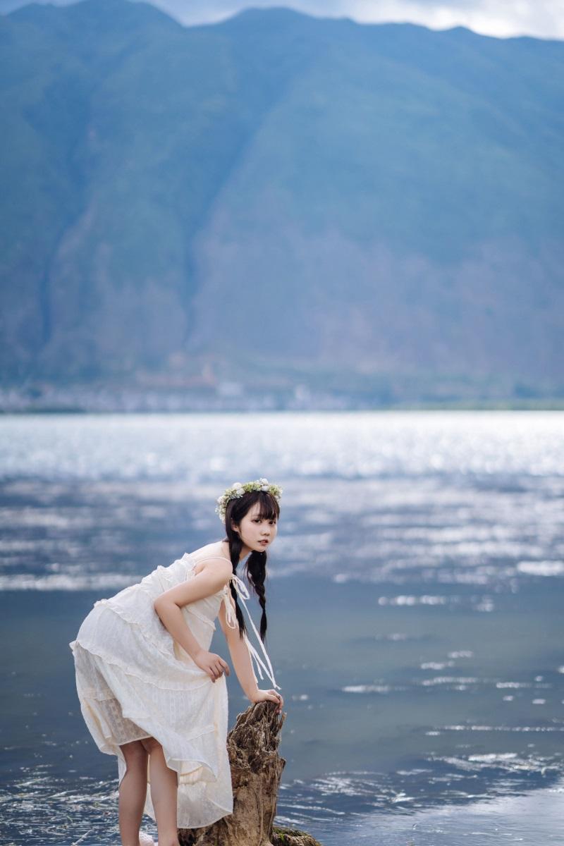 萝莉系列 喵糖映画少女写真 VOL.306 海边姑娘 [38P/635MB] 喵糖映画-第3张