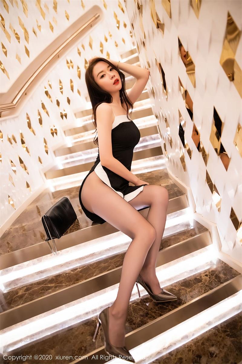 美女写真 华丽典雅的吊裙 梦心月 [94P/973MB] 美丝写真-第3张