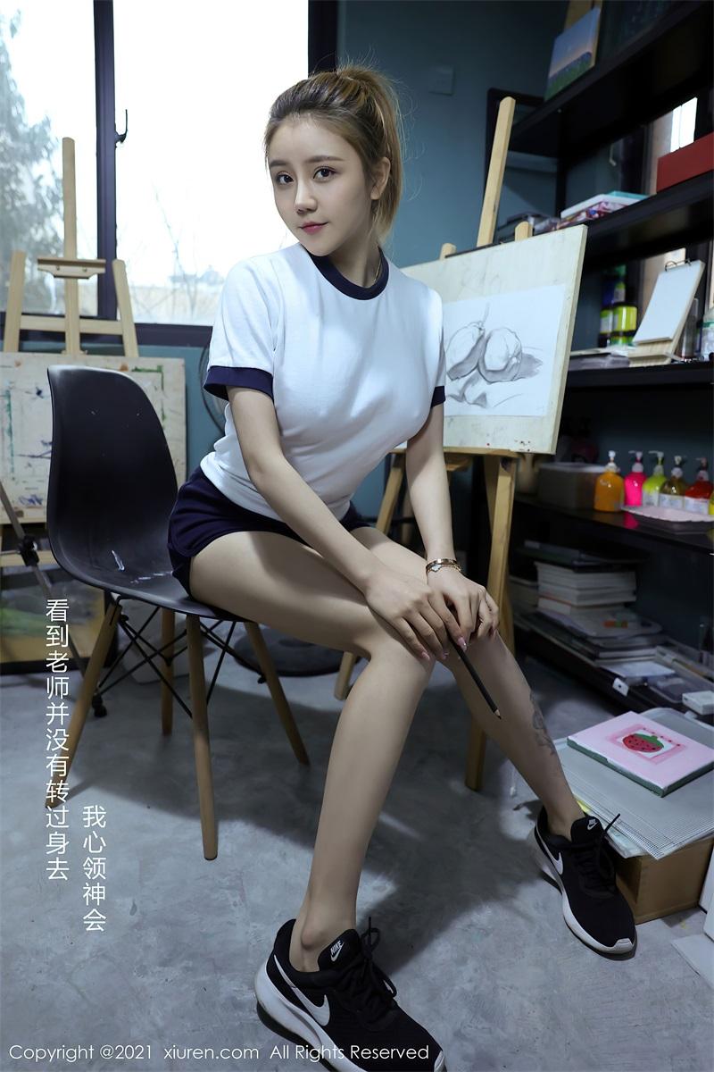 美女写真 美术教室里的师生2 夏西Cici [49P/417MB] 美丝写真-第2张