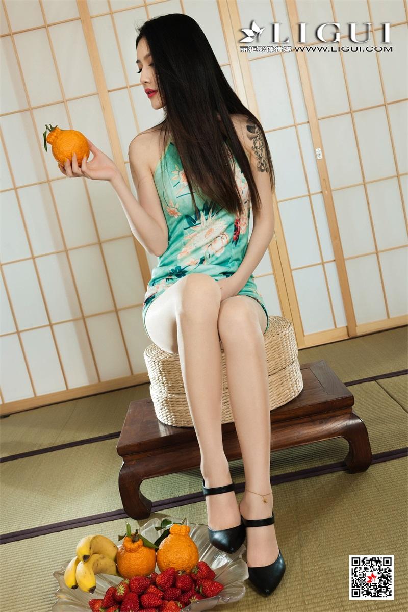 [Ligui丽柜] 2021.07.19 Model《贵足盛宴之甜足莓汁》甜甜 [53/68MB] LIGUI丽柜-第2张