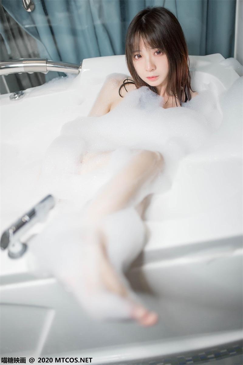 萝莉系列 喵糖映画少女写真 VOL.323 浴缸泡泡 [20P/99MB] 喵糖映画-第2张