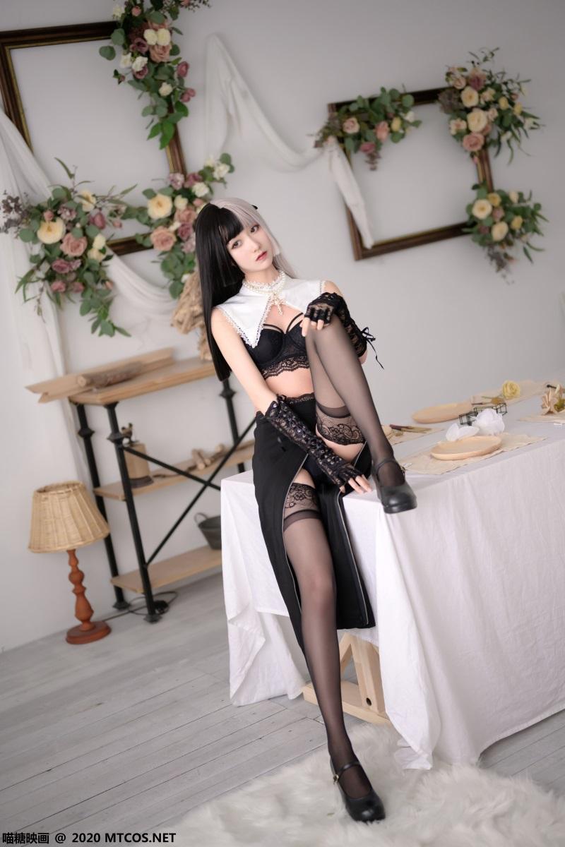 萝莉系列 喵糖映画少女写真 VOL.302 黑白修女 [20P/392MB] 喵糖映画-第2张