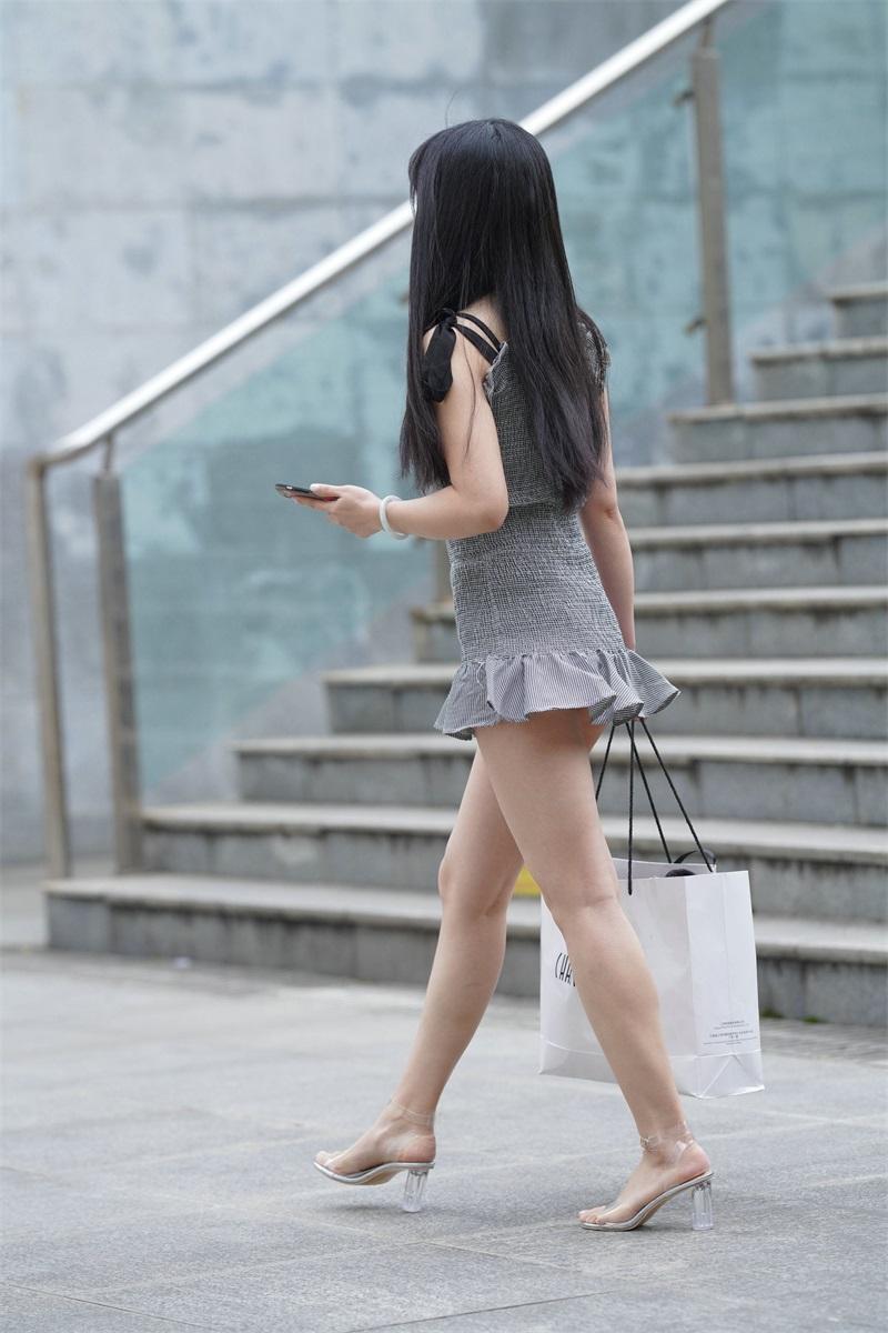 精选街拍 No.124 超短裙女孩 3 [109P/79MB] 精选街拍-第2张
