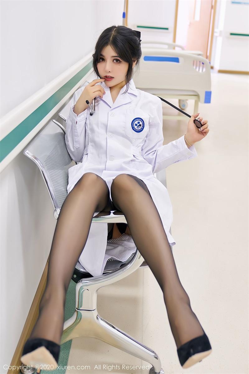 美女写真 护士职业装 韩静安 [59P/566MB] 美丝写真-第2张