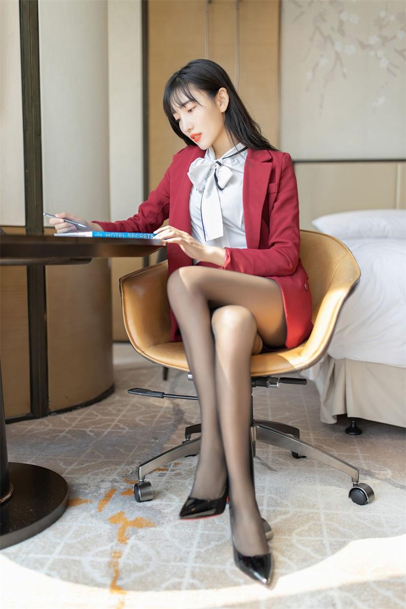 美女写真 热情洋溢的职场西服 陆萱萱 [65P/639MB] 美丝写真-第2张