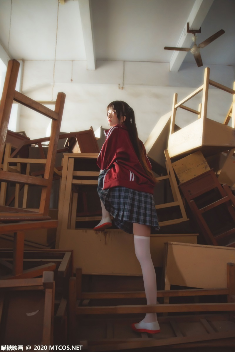萝莉系列 喵糖映画少女写真 VOL.304 废弃教室 [31P/849MB] 喵糖映画-第3张