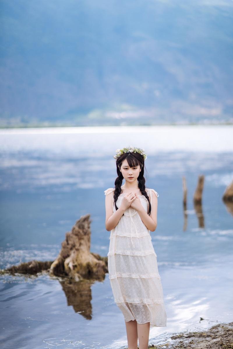萝莉系列 喵糖映画少女写真 VOL.306 海边姑娘 [38P/635MB] 喵糖映画-第2张