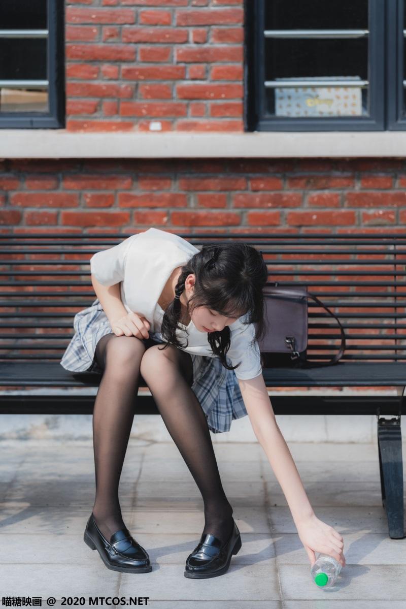 萝莉系列 喵糖映画少女写真JKL.018 户外JK至服 [54P/1.23GB] 喵糖映画-第2张