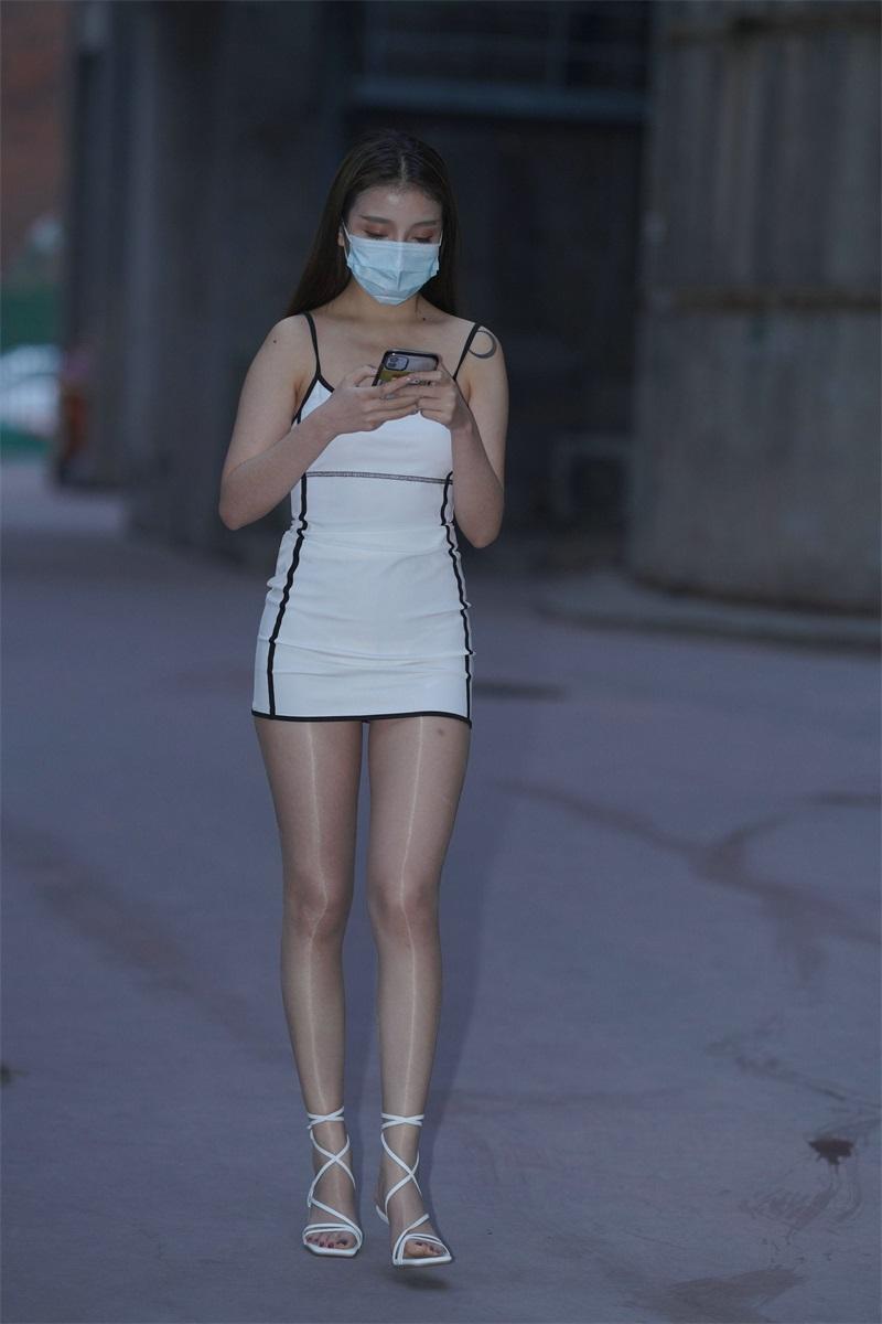 精选街拍 No.129 好养眼的白裙美眉 3 [121P/50MB] 精选街拍-第1张