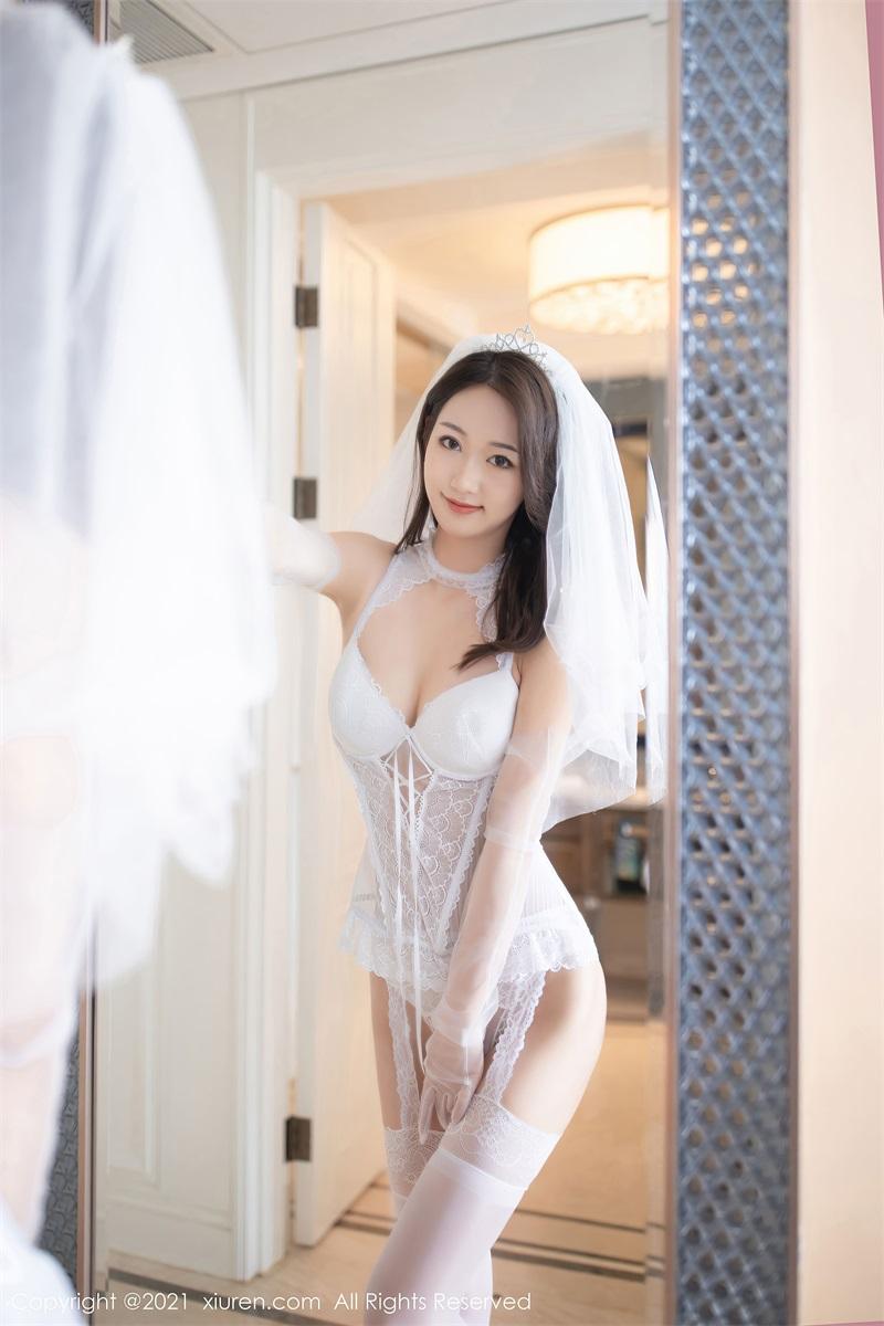 美女写真 白色婚纱 唐安琪 [67P/604MB] 美丝写真-第2张