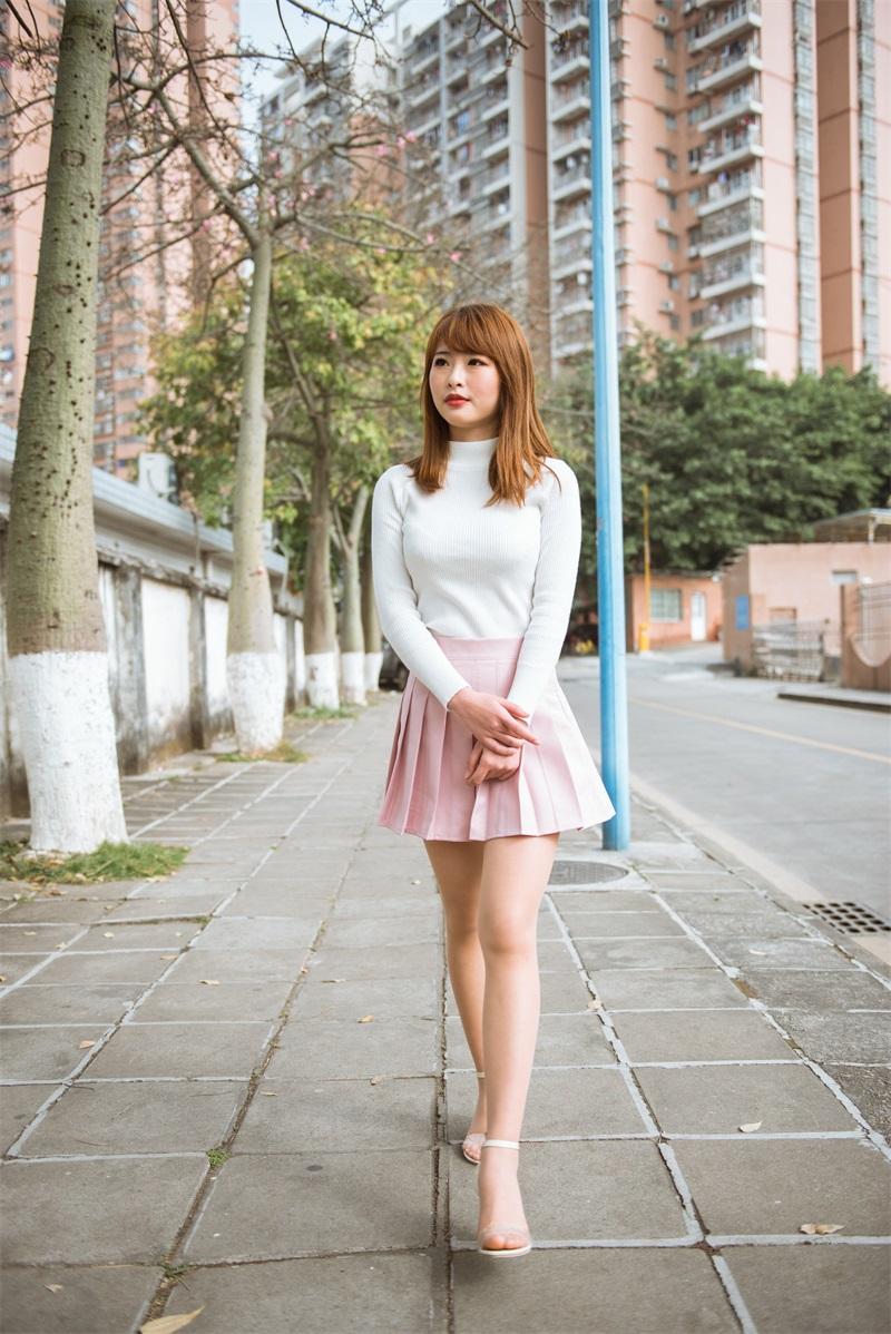 精选街拍 No.140 穿粉色短裙的小姐姐 [273P/515MB] 精选街拍-第2张