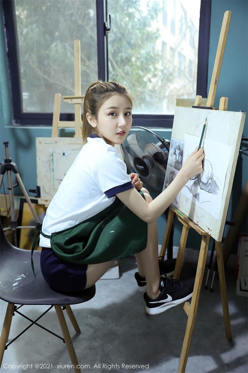 美女写真 美术教室里的师生2 夏西Cici [49P/417MB] 美丝写真-第1张