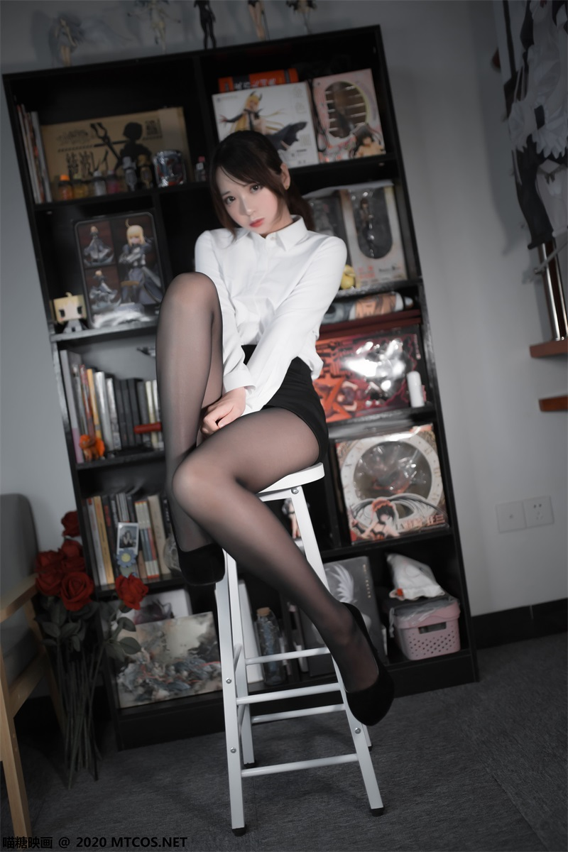 萝莉系列 喵糖映画少女写真 VOL.313 职业黑丝OL [25P/188MB] 喵糖映画-第1张