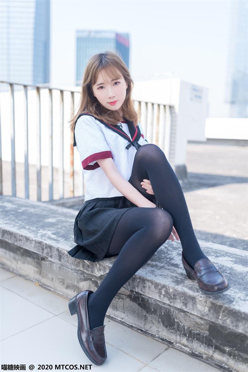 萝莉系列 喵糖映画少女写真 VOL.322 天台少女 [46P/329MB] 喵糖映画-第1张